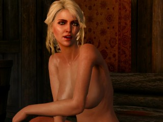The Witcher - Ciri with Big Boobs in Lofoten