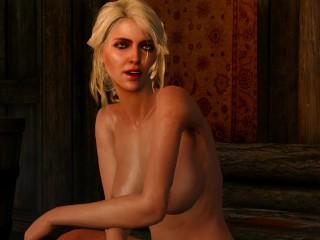The Witcher - Ciri with Big Boobs in Lofoten