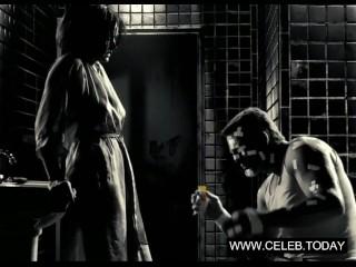 Carla Gugino - Big Boobs, Topless - Sin City (2005)