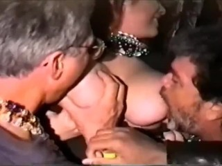 Busty Girl In Mardi Gras Likes To Be Sucked Big Boobs