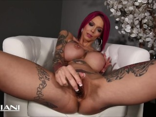 Annabelle Peaks Horny Pink-Haired Big Boobs MILF Wants Your Cock Inside Her