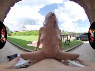 VRLatina - Stunning Big Ass Big Tit Babe Outdoor Fucking VR
