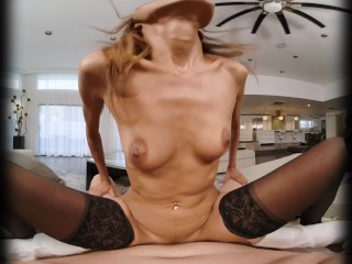 VRConk Naughty Babe Fucks Her Mother's New Boyfriend VR Porn