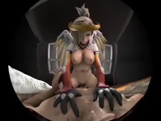 Classic Mercy Cock Riging VR