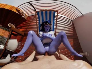 Overwatch: Widowmaker Apartment Mission Briefing VR 3D