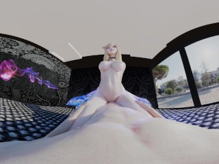 League of Legends: Ahri KDA Cowgirl VR 3D