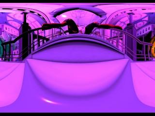 Dragoness-Giantess VR Flythrough Movie