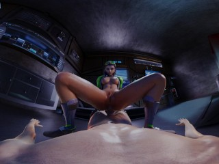 Overwatch: Can't Sleep? Sombras got a late night hack for that! VR 3D