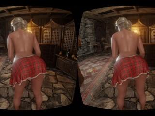 Ciri booty shaking VR