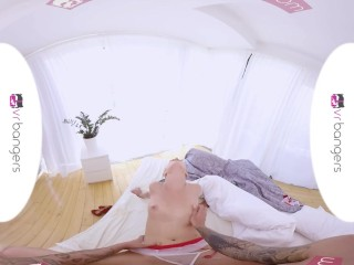 VR PORN - Hot Nurse Treats Patient's Dick with Her Mouth and Wet Pussy