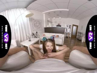TmwVRnet.com - Alita Angel - Lollipop and dick in gentle hands
