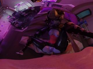Overwatch: Widowmaker Noire [Anal] VR 3D