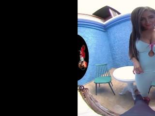 VRLATINA.COM - Big Tits Latina In VR