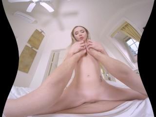 Girlfriends first VR porn