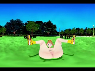 VR 360 Video Anime May Pokemon Missionary in the park