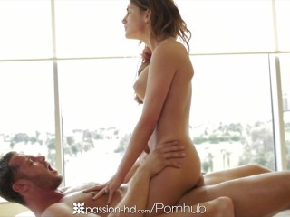 August Ames swallows cock and grinds on dick compilation - Passion-HD
