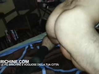 StepMamma italiana scopata da un ragazzo mentre il cornuto filma e si sega