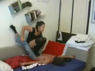 Italian girl trampling