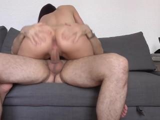 Homemade hardcore anal sex with italian Valentina Bianco