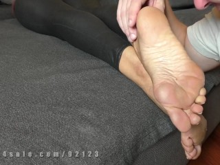 Saed@ dominat milf, dirty shoes and feet worship
