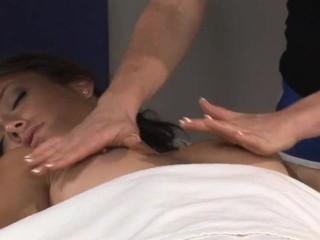 Malena Morgan and Ami Emerson - Massage