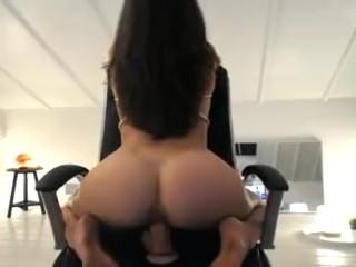 Malena morgan sitting on big dick