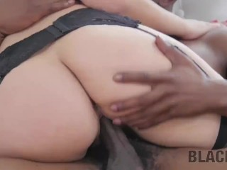 BLACK4K. Husband doesnt know about interracial sex of GF and plumber
