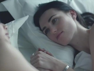Katie Mcgrath, Gemma Chan Lesbian Sex Scenes - Dates s01 (2013)