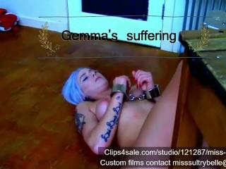 La sofferenza di Gemma.
