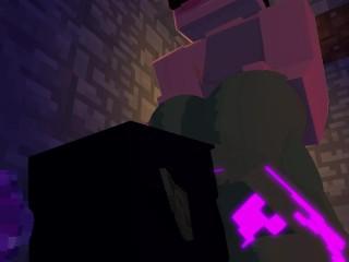 Steve alla ricerca del diamante perduto (Livia X Steve) [Minecraft Porn] [Minecraft Porn]