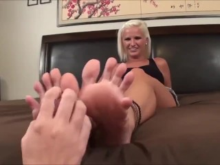Tickling Play with a Socks