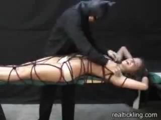Real tickling - Savannah stern tickled !