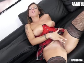 CastingAllaItaliana - Big Tits Italian Mature Love To Take It In The Ass At First Audition