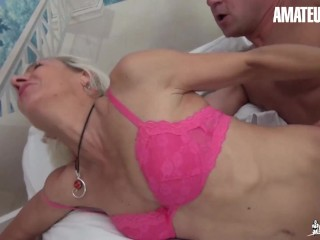 La Cochonne - Charly Sparks Blonde French Mature Hot Amateur Fuck In Both Holes