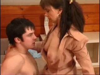 Russian mature Ira and VItas