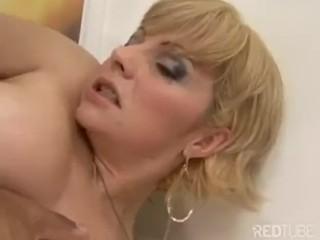 Blonde mature anal (3)